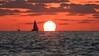 Sailing at sunset -Tel-Aviv beach (Lior. L) Tags: sailingatsunsettelavivbeach sailing sunset telaviv beach sailboat sea sky telavivbeach