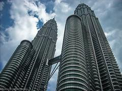Petronas Twin Tower-Kuala Lumpur (johnfranky_t) Tags: petronas twin tower malesia torri gemelle johnfranky t grattacielo malaysia