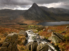 To the Dark Mountain (PentlandPirate of the North) Tags: tryfan snowdonia llynogwen northwales mountain river rocks ~flickrinnes flickrinnes