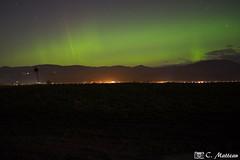 171107-81 Aurore boréale (clamato39) Tags: îledorléans provincedequébec québec canada auroreboréale beauté nature vert longexposure poselongue ciel sky