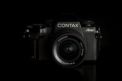 "Black ""camera"" Friday (magnus.joensson) Tags: camera friday contax aria carl zeiss 28mm distagon cy 35mm film"