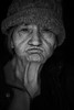 DSC01260 (Damir Govorcin Photography) Tags: mother 80yearsold wisdom experience eyes blackwhite natural light monochrome sony a7rii zeiss batis 85mm