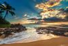 Sunset Over Makena Cove #2 (Matt Anderson Photography) Tags: sunset sunrise coast tidalpool makena maui cove kahooalawe island hawaii pacific ocean dramatic landscape mattanderson sunstar sunbeams godrayscloudscape vacation reflection waterscape