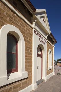 Memorial Hall: Street Facade