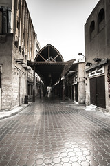 Magic portal (pixelasso) Tags: dubai dubaiskyline travel tourism architecture infratructure markets bazaar souq blackandwhite old middleeast monochrome