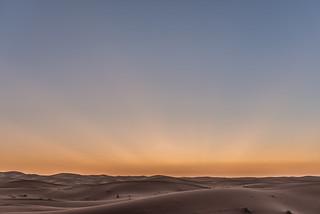 Desierto de Sahara, Marruecos.