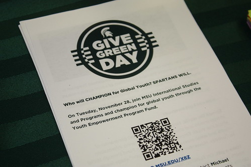 #GiveGreenDay, November 2017