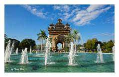 SHF_1037_Patuxai - The victory gate of Vientiane (Tuan Râu) Tags: 1dmarkiii 14mm 100mm 135mm 1d 1dx 2470mm 2017 50mm 70200mm tuấnrâu2017 canon canon1d canoneos1dmarkiii canoneos1dx vientiane viêngchăn laos patuxai đàichiếnthắng biểutượng mây cloud nước water waterfall tuanrau tuan râu httpswwwfacebookcomrautuan71
