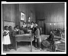 Thanksgiving Lesson, c. 1900. (Melinda Stuart) Tags: lesson children libraryofcongress lc va hampton africanamericans history school thanksgiving