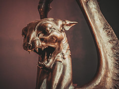 *** (donnicky) Tags: animal artandcraft closeup gargoyle indoors museum nopeople publicsec sculpture spooky statue moskva moscow russia ru