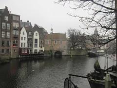 Upper end, old harbor of Delfshaven, Rotterdam, Netherlands (Paul McClure DC) Tags: delfshaven rotterdam netherlands thenetherlands southholland zuidholland nov2017 architecture historic scenery
