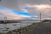 Islanda-34 (msmfrr) Tags: panorama landscape vento wind jökulsárlón ghiaccio ghiacciaio glacier lagoon ice sea spiaggia beach islanda iceland alba sunrise montagna cielo acqua paesaggio mare roccia neve baia iceberg water clouds nuvole bridge ponte
