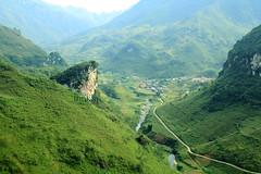hagiang mountain & street