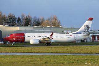 Norwegian Air International (Clara Barton) 737-8 MAX EI-FYF