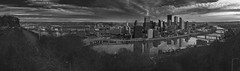 City Of Pittsburgh (Panoramic) (@CarShowShooter) Tags: geo:lat=4043454167 geo:lon=8001126453 geotagged unitedstates usa november2017 alleghenycounty americancity bw baw blackwhite blackandwhite bnw city citybuildings cityofbridges cityofpittsburgh cityscape clouds cloudscape commonwealthofpennslyvania downtown downtownpittsburgh exploring historicamericancity historiccity latefall monochrome monongahelariver monotone mountwashington mtwashington pa pano panorama panoramic panoramicimage pennsylvania photoopportunity photoshoppanorama pit pittsburgh pittsburghpa pittsburghpennsylvania river scenic scenicspot scenicview sky skyscraper steelcity stitchedimage threerivers tourism touristattraction travel travelblogphoto travelphotography travelingadventures water whiteblack worldadventures worldtravel