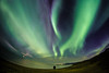 Alone in Iceland (Zeeyolq Photography) Tags: night beach auroraborealis stars sky islande iceland northernlights sea