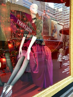 Fashion, with City Reflections