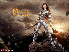 PHICEN PL2017-108 Majestic Crusader - 01 (Lord Dragon 龍王爺) Tags: 16scale 12inscale onesixthscale actionfigure doll hot toys phicen tbleague seamless female