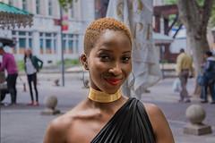 Gold (Paul Saad) Tags: people woman women pretty beautifull nikon bokeh street portrait closeup smile