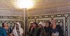 First Time Visitors (peterkelly) Tags: uzbekistan guriamirtemur samarkand mausoleum asia digital gadventures centralasiaadventurealmatytotashkent canon 6d light lamp scarf old women woman visitors gold looking tourists samarqand