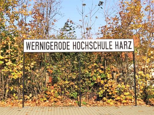 Bahnhof Wernigerode Hochschule Harz