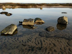 Still Blurred Rock Pool (Filmstalker) Tags: rocks coast mobile lensblur water pool rockpool