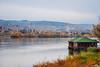 Autumn in Novi Sad. Danube River View. (krugli) Tags: novisad serbia city vojvodina autumn danube river