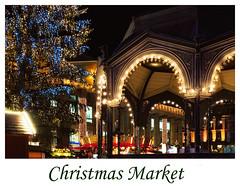 Christmas Market (FocusPocus Photography) Tags: weihnachtsmarkt christmasmarket weihnachten christmas beleuchtung lights nacht night pavillon pavilion weihnachtsbaum christmastree stuttgart