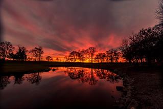 Lake Windsor Sunset