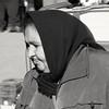 Grandmother (Fencejo) Tags: canon600dt3ikissx5 canonef100300mmf4556usm cs3 candid portrait mercadoalmozara zaragoza blackwhitebwstreetcityblackandwitestreetphotographymonochrome market people