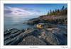 Stoney Point Coast: (Mark Darnell) Tags: lakesuperior stoneypoint lakes park rocks shoot52 week46
