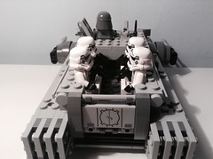 Imperial Hovertank - Troop carrier 2/3 (Sam K Bricks) Tags: imperial hovertank star wars rogue one empire lego