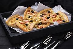 Slices of pizza (fb.com/SlavaGalaka) Tags: foodphotographer food foodstyling foodphotography foodporn pizza italian slavagalaka ukraine kyiv canon 6d 24105 styling box black