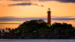 Jupiter Lighthouse Sundown (srotag1973) Tags: lighthouse jupiter florida sunset cloudsstormssunsetssunrises orange sky