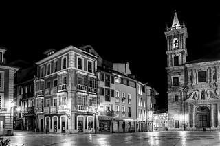 Oviedo, plaza del Ayuntamiento
