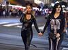 Black Cat and Skeleton (San Diego Shooter) Tags: costume girl girls halloween halloweencostume sandiego bokeh streetphotography portrait halloween2017