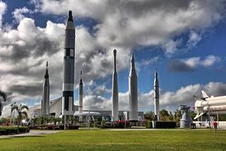 Rockets at KSC
