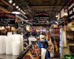 Rib Stand inside the Reading Terminal Market in Philadelphia PA (PhotosToArtByMike) Tags: readingterminalmarket philadelphia pennsylvania ribstand ribs centercity foodvendors farmersmarket pa philly america'soldestfarmersmarket amishmerchants phillycheesesteaks restaurants pennsylvaniadutch
