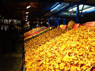 Cantharel market Stockholm