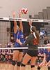 IMG_0285 (SJH Foto) Tags: net battle spike block action shot jump midair girls volleyball high school elizabethtown etown central york hs team