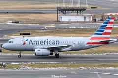 N806AW @BOS (thokaty) Tags: n806aw americanairlines a319 a319132 eis1999 americawestairlines usairways bostonloganairport bos kbos