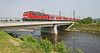 DB 111 048-5 with Sunday morning service to Basel. Near Sexau, Alsace. (mikul44171) Tags: 1110485 111048 elz sexau bridge river tributary rhinevalley alsace