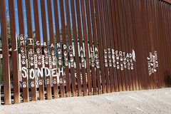 BorderEncuentro2017_Day2_IMG_1243-1 (rawEarth) Tags: theborder borderwall nogales lafrontera immigration deportation caravanainternacional humanrights humandignity veteransforpeace veteransday rally march crossingtheborder procession mexico sonora schooloftheamericas whinsec soawatch borderencuentro teardownthewalls buildupthepeople nowalls stopdeportingusveterans bringdeportedveteranshome bordercrossing worldwithoutwalls caravanainternacionalporlaunidaddelospueblos oaxaca oaxacaasonora