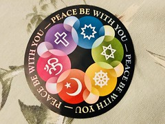 Peace Be With You (LarryJay99 ) Tags: circle love friendship sticker badge peace