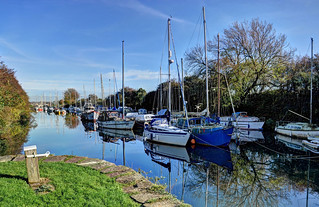 Lydney Harbour, Gloucestershire