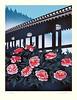 Tree peony (Japanese Flower and Bird Art) Tags: flower tree peony paeonia suffruticosa paeoniaceae masayuki miyata modern woodblock print japan japanese art readercollection