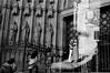 Chronos (Sergi Escribano) Tags: barcelona barcelonastreetphotography sergiescribano analogue filmisnotdead nikonfm2 kodak kodaktmax catedral kiss architecture blackandwhite monochrome monocromático double exposure film