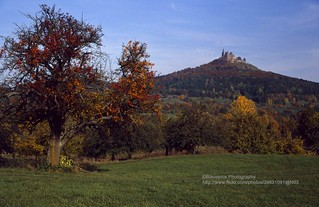 Hechingen, Hohenzollern Castle with landscape