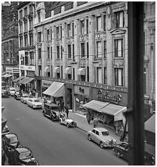 From the office window (pp,016) (geoff7918) Tags: newstreet christchurchpassage chamberofcommerce ethelstreet vauxhaull rollsroyce austin ford morris