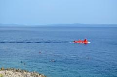 Red Submarine [Velj Losjni - 10 August 2017] (Doc. Ing.) Tags: 2017 losinj croatia summer seaside velilosinj boat submarine mediterranean kvarnergulf kvarner seascape